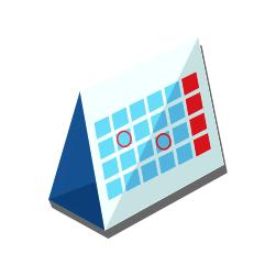 Настольные календари 2020-2021